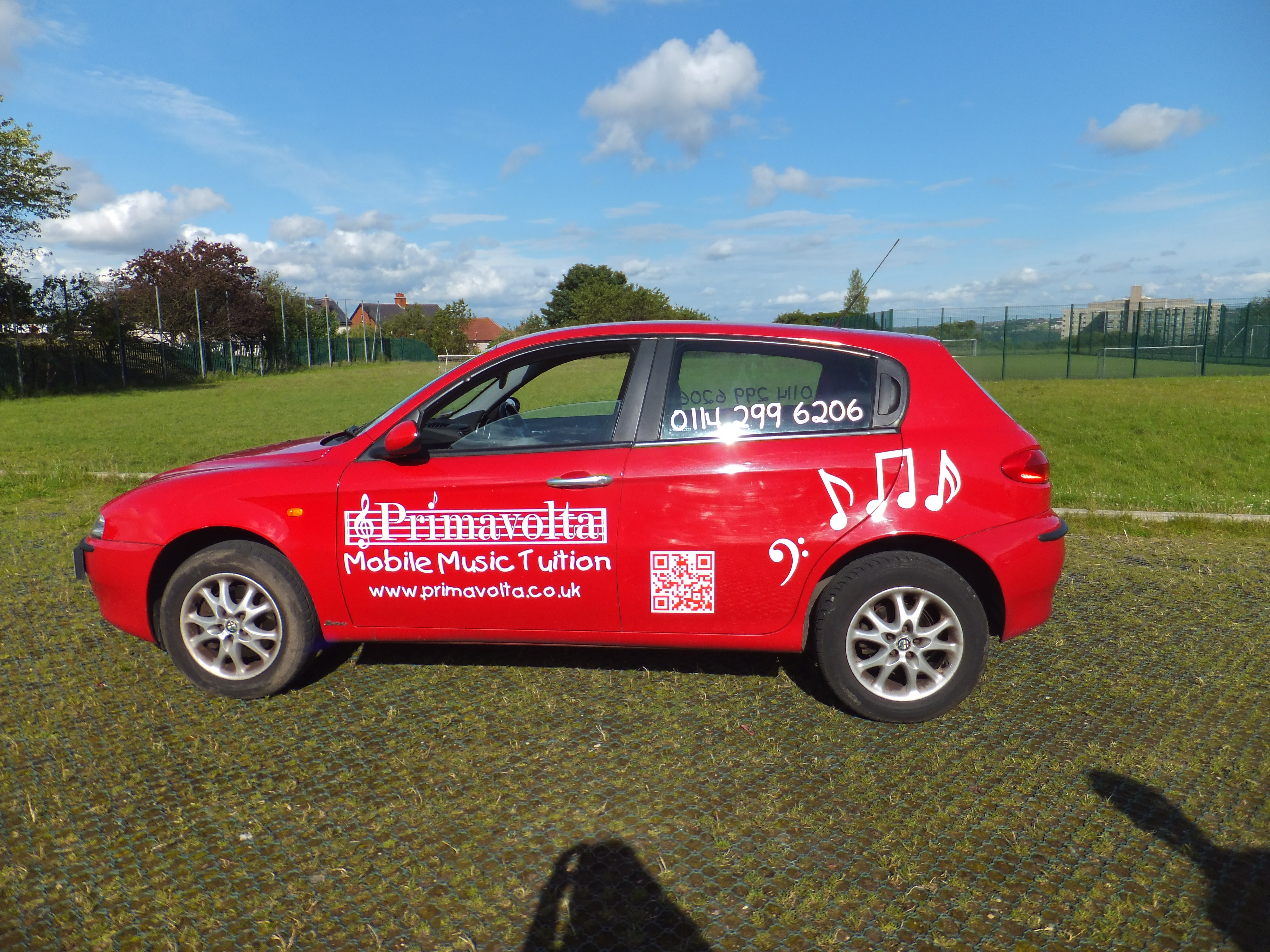 Sheffield Primavolta Car